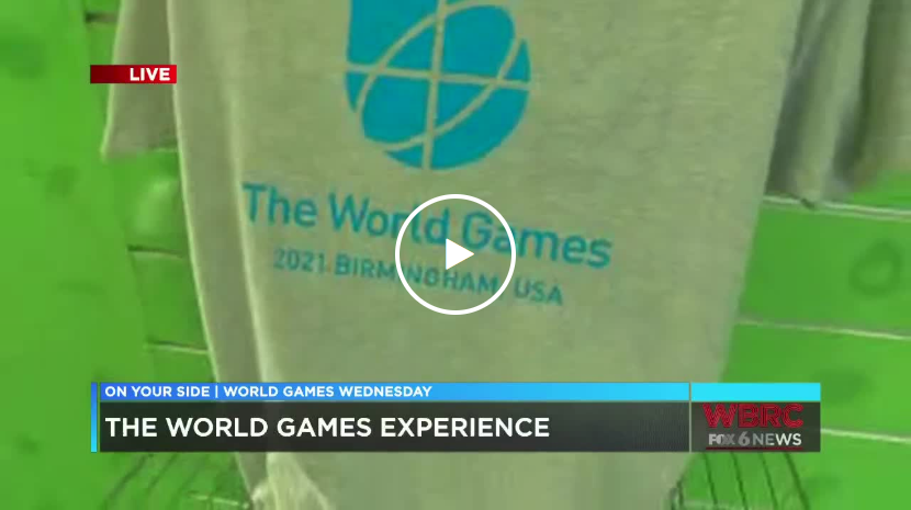 T-shirt on The World Games 2021 Experience delivered by Shipt van.