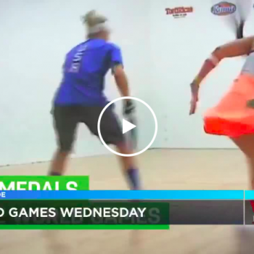 World games Wednesday AOTM Racquetball