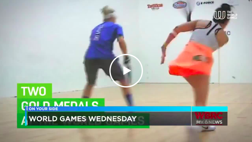 World games Wednesday AOTM Racquetball